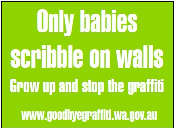 the steps in stopping graffiti related vandalism in the community For example, a recommendation for producing positive outlooks on graffiti, and to reduce criminal activity and vandalism, is to build a community wall in which all citizens are entitled to put markings of any form on.