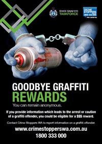 Goodbye Graffiti Rewards Poster