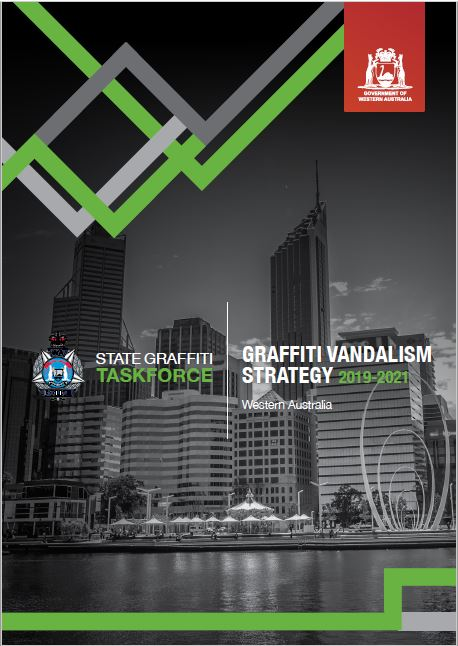 Front cover of Graffiti Vandalism Strategy 2019 - 2021